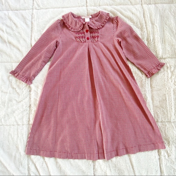 Janie and Jack Other - Janie and Jack red houndstooth dress